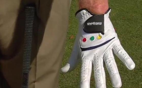 Get a Grip: The Shot Dot Golf Glove