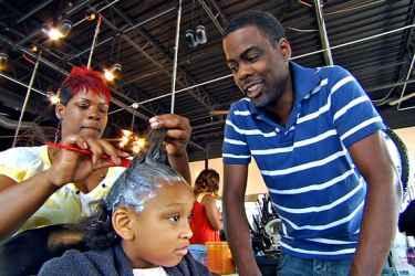 Chris Rock & Paul Mooney in the movie Good Hair