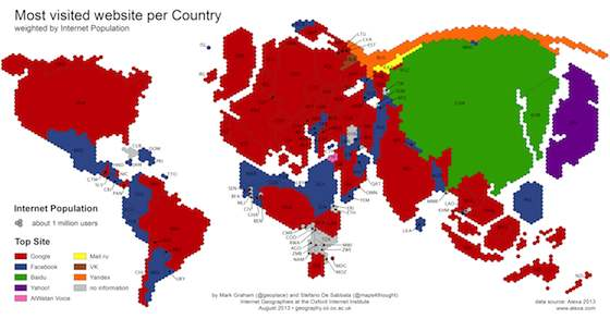 Google and Facebook Carve out Internet Empires