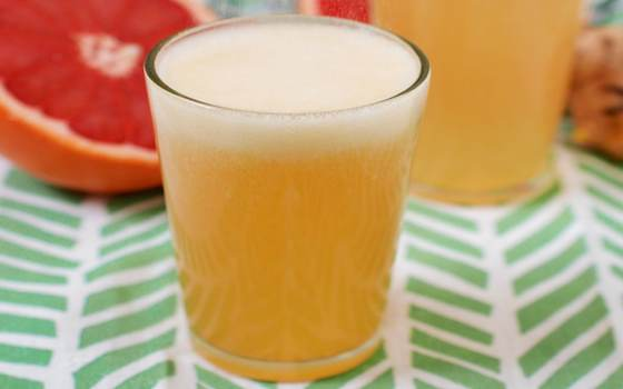 Grapefruit Honey Ginger Soda Syrup Recipe