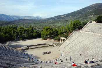Epidavros' theater is the finest and best preserved of all of Greece's ancient theaters -- and that's saying something in a country with 132 of them
