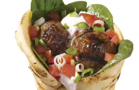 Greek Meatballs with Tzatziki Recipe