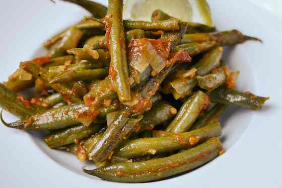Greek-Style Braised Green Beans Recipe