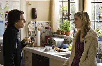 Ben Stiller & Greta Gerwig in the movie Greenberg