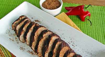 Grilled Pork Tenderloin With Cocoa Chile Rub Recipe