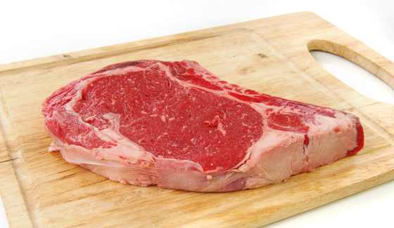 Grilled Rib-Eye Steaks With Port And Peppercorn Sauce