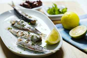 Grilled Spicy Citrus Sardines  - Recipes