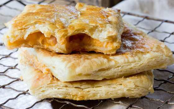 Grown-Up Prosciutto and Cheddar Hot Pockets Recipe