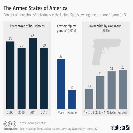 Guns: The Armed States of America
