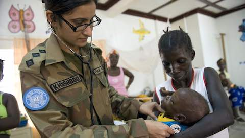 Healing or Harming? The Provision of Health Care by Peacekeepers