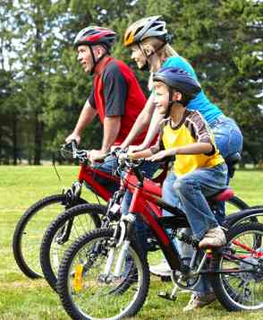 Find activities the whole family can do together, such as a daily walk or bike ride in the neighborhood
