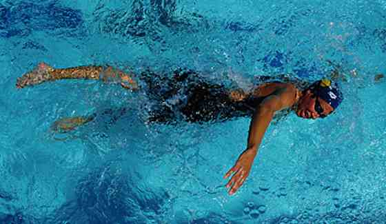 Olympic Fitness: Janet Evans Gold-Medal Water Workout