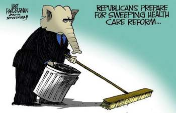 GOP Prepares for Sweeping Healthcare reform