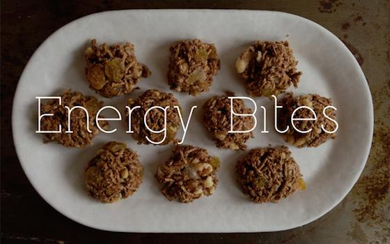 Energy Bites! Recipe