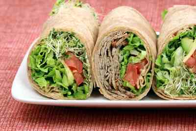 Keep the kids guessing by alternating wraps, pitas, veggies and hummus, sandwiches and salads.