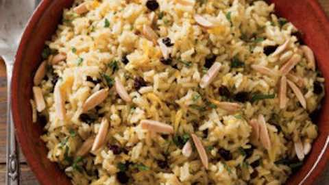 Curried Barley Pilaf  Recipe