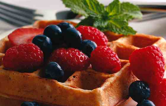 Waffles Worth Waking Up For Recipe