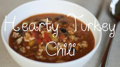 Hearty Turkey Chili Recipe