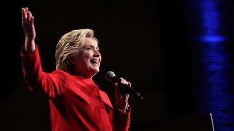 Clinton's Odds of Winning Presidency Jumps