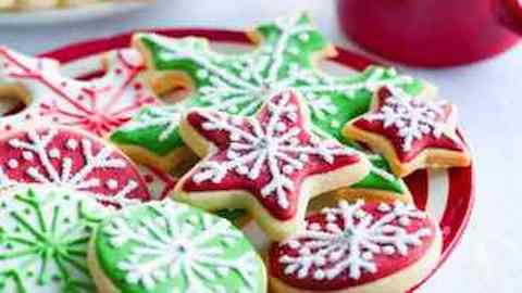 Christmas Cookie Basics Recipe