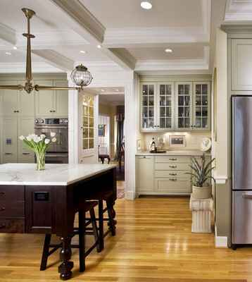 Home Decor  The elements of this kitchen look traditional but the overall composition simple Historic and Eclectic Not Necessarily Opposites in