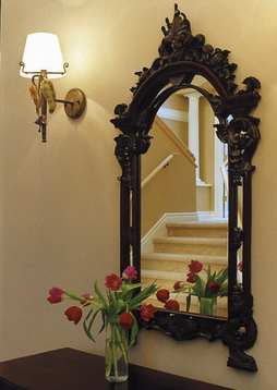 Mirrors, ornate and plain, do lots of decorative heavy lifting. Used thoughtfully, they can double as art, lighten up dark rooms, or reflect pretty views or accessories
