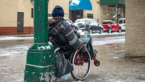 Homeless During the Polar Vortex