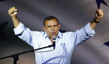 Honduran President Porfirio Lobo