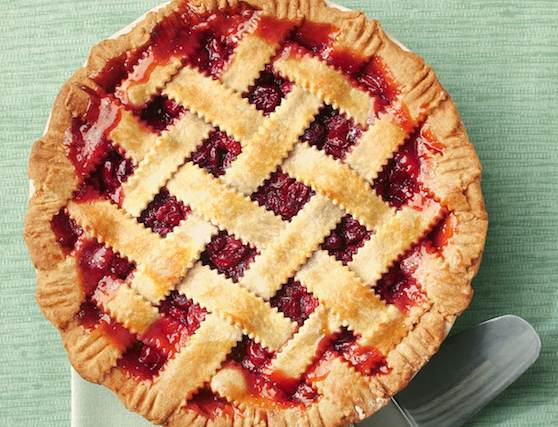 Honey-Sweetened Cherry Pie Recipe