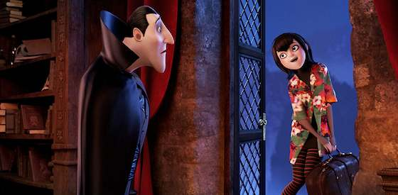 Adam Sandler and Andy Samberg  in Hotel Transylvania