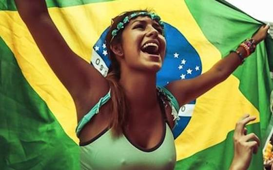 7 Hottest Fans at The 2014 World Cup - 2014 World Cup Semifinals