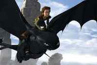 Jay Baruchel & Gerard Butler in the movie How to Train Your Dragon