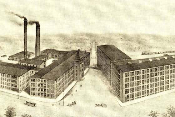 Mason Machine Works / Wikipedia (the Berkshire Cotton Manufacturing Company)