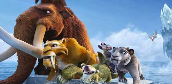 Ray Romano and Denis Leary in Ice Age: Continental Drift