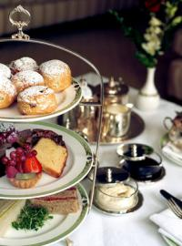 Afternoon tea at the Merrion. Five-Star Ireland: Luxury, Golf & Top-Class Spas Await