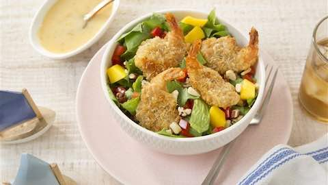 Island Coconut Shrimp Salad Recipe