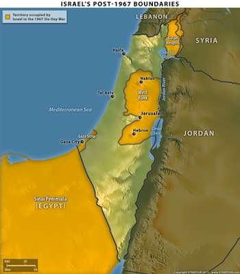 Israel's Post-1967 Borders