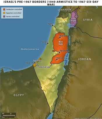 Israel's Pre-1967 Borders