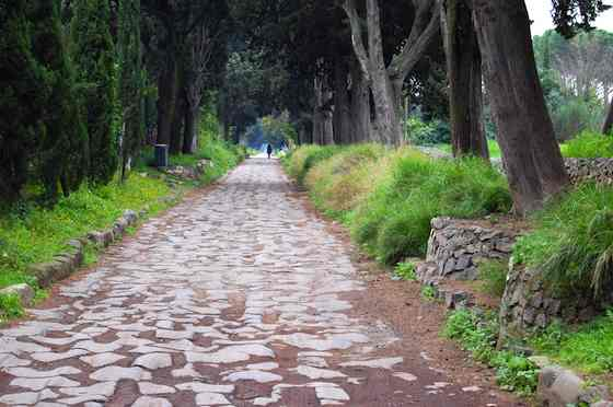 Time Travel on Rome's Ancient Appian Way