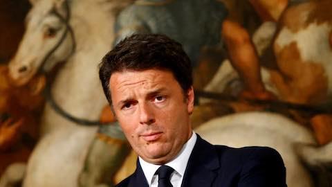 EU Fears Losing Truculent Renzi