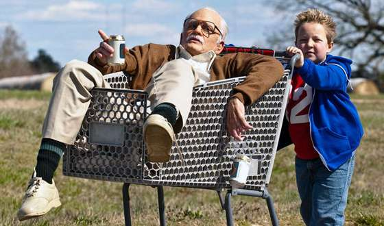 'Jackass Presents: Bad Grandpa' Movie Review - Johnny Knoxville and Jackson Nicoll  | Movie Reviews Site