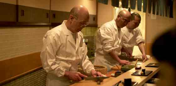 Jiro Ono and Sukiyabashi Ono in Jiro Dreams of Sushi