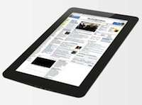 Perhaps the most similar to Apple's iPad, the JooJoo has a 12.1-inch color touchscreen that's ready for Web surfing, document work, and high-definition video. The device has been the subject of lawsuits that almost stalled its sales, which are expected to begin later this spring at a price of $500