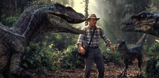Laura Dern and Sam Neill  in 'Jurassic Park 3-D'