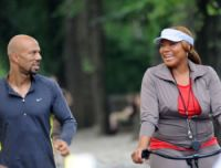 Queen Latifah & Common in the movie Just Wright