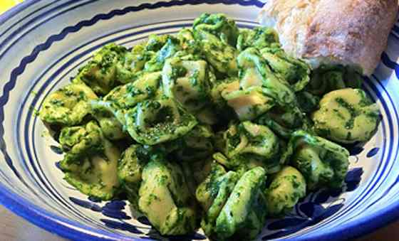 Kale Tortellini Pesto Recipe