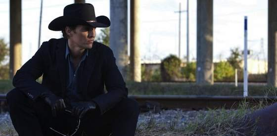 Matthew McConaughey and Emile Hirsch in Killer Joe