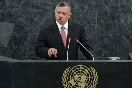 King Abdullah II Bin Al Hussein