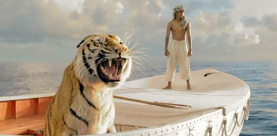 Suraj Sharma and Irrfan Khan  in Life of Pi