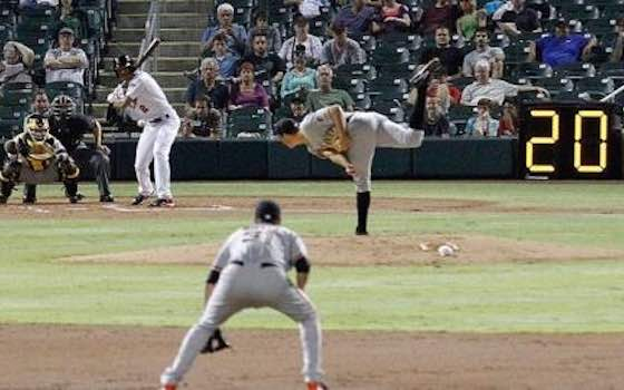 MLB 'Highly Unlikely' to Implement Pitch Clock in 2015